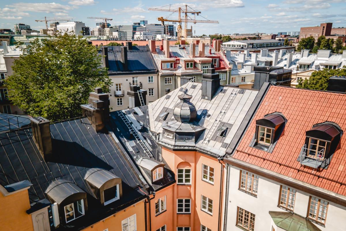 Arkitektritad vindsvåning